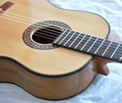 African Blackwood Classical Guitar